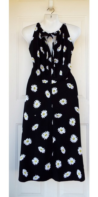 Kate Spade Floral Halter Fit And Flare Spring Daisy Dress