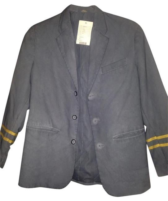 Urban Outfitters Grey With Gold Trim On The Sleeves Blazer