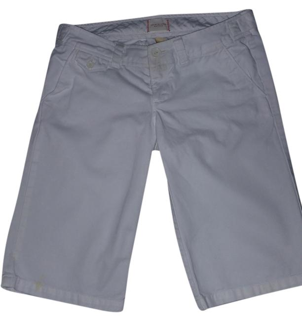 Abercrombie & Fitch Bermuda Shorts white