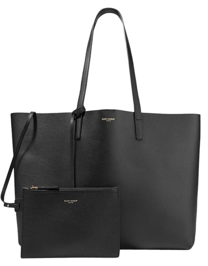 5203815ed36 Saint Laurent Only 1 Left - Large Black Calfskin Leather Tote - Tradesy