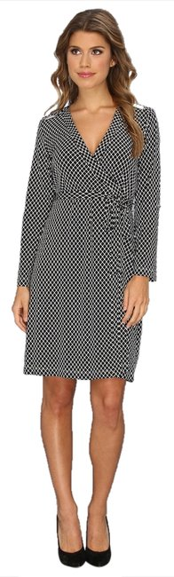 Calvin Klein Geometric Wrap Wrap New With Tags Dress