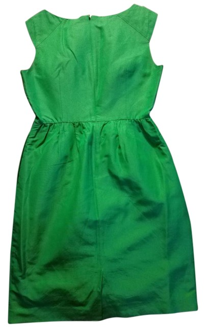 Item - Green Mid-length Formal Dress Size 4 (S)
