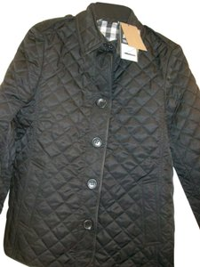 Burberry Ashurst Classic Modern Quilted Women's Black Jacket