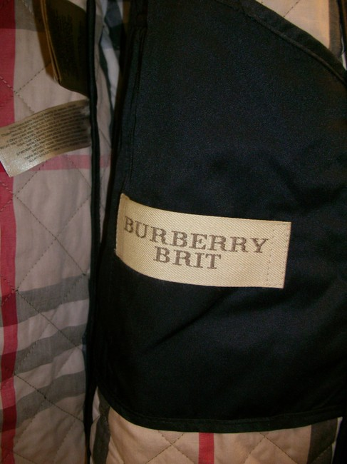 Burberry Ashurst Classic Modern Quilted Women's Black Jacket Image 2
