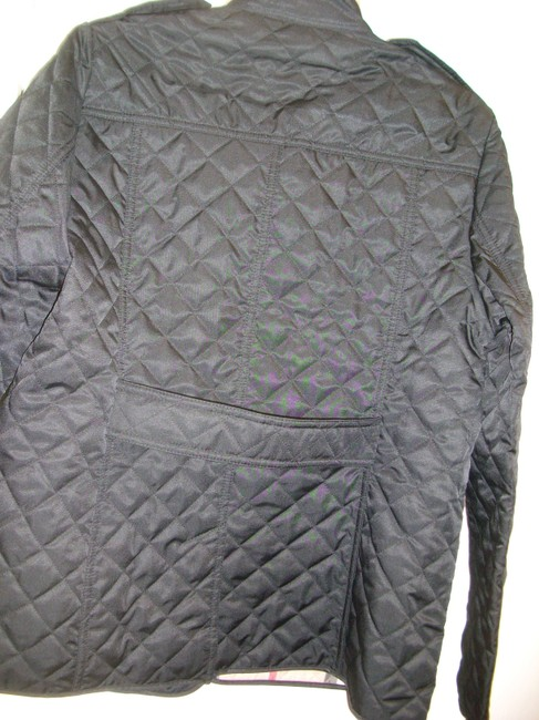 Burberry Ashurst Classic Modern Quilted Women's Black Jacket Image 4