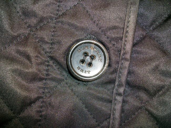 Burberry Ashurst Classic Modern Quilted Women's Black Jacket Image 5