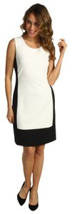 Calvin Klein Side Zip Color-blocking Dress