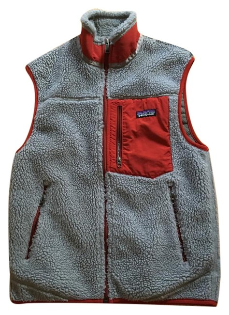 Item - Grey and Red Classic Retro-x Vest Size 6 (S)