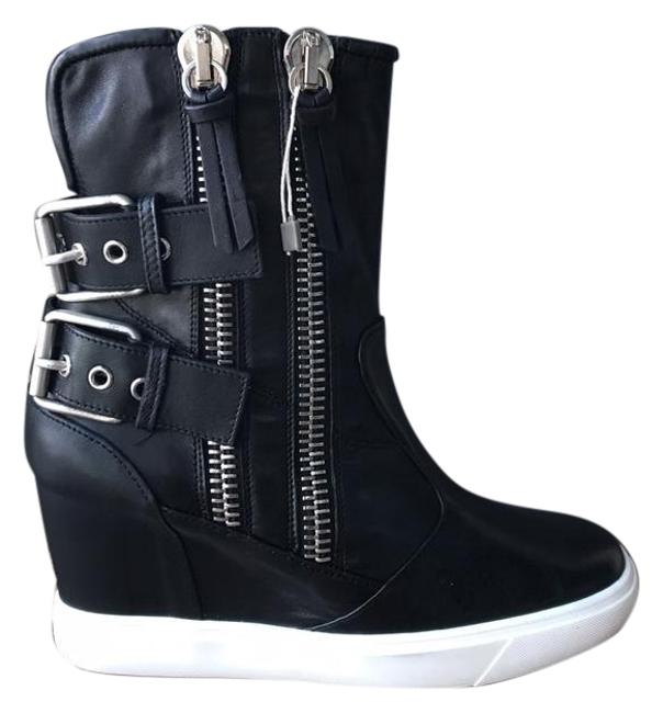 Item - Black White New Boots/Booties Size EU 40 (Approx. US 10) Regular (M, B)