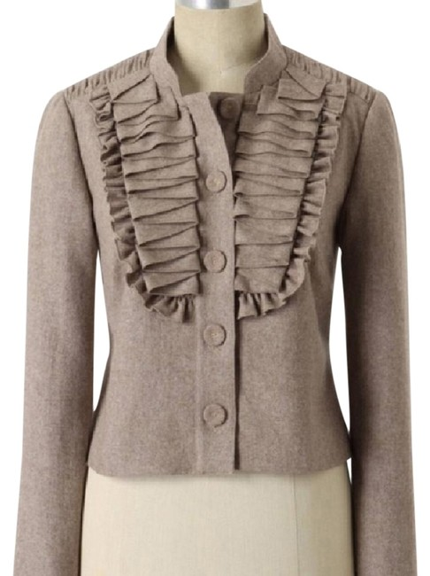 "Item - Taupe Never Worn Tabitha ""Pretty As You Please"" Jacket Size 2 (XS)"
