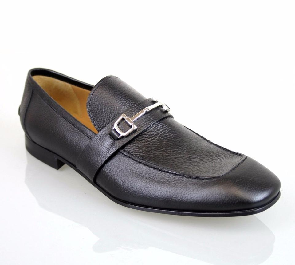 0e7ffd75487 Gucci Black Horsebit Men s Leather Loafer 13.5 Us 14.5 253302 Shoes ...