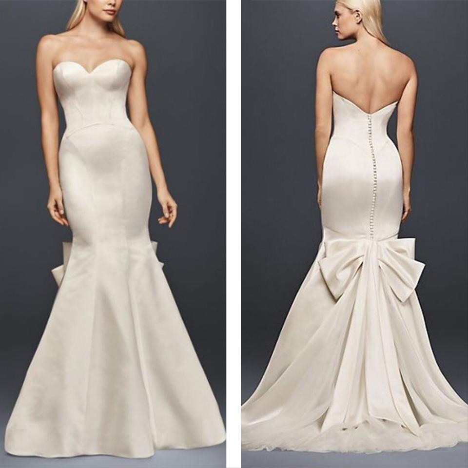 Zac Posen Truly Zac Posen Seamed Satin Wedding Dress Wedding Dress ...