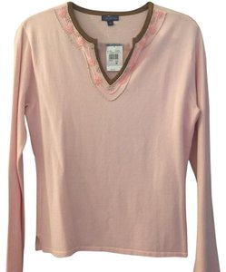 J. McLaughlin Top Pink with beads