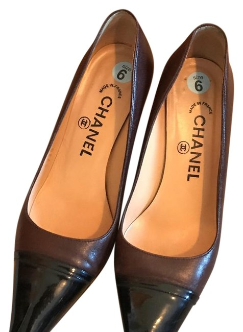 Item - Black and Brown Excellent Condition Formal Shoes Size US 5.5 Regular (M, B)