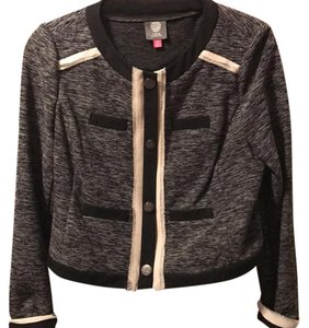 Vince Camuto black and gray Jacket
