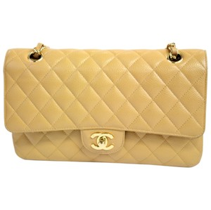 Chanel Caviar Double Flap Medium Shoulder Bag