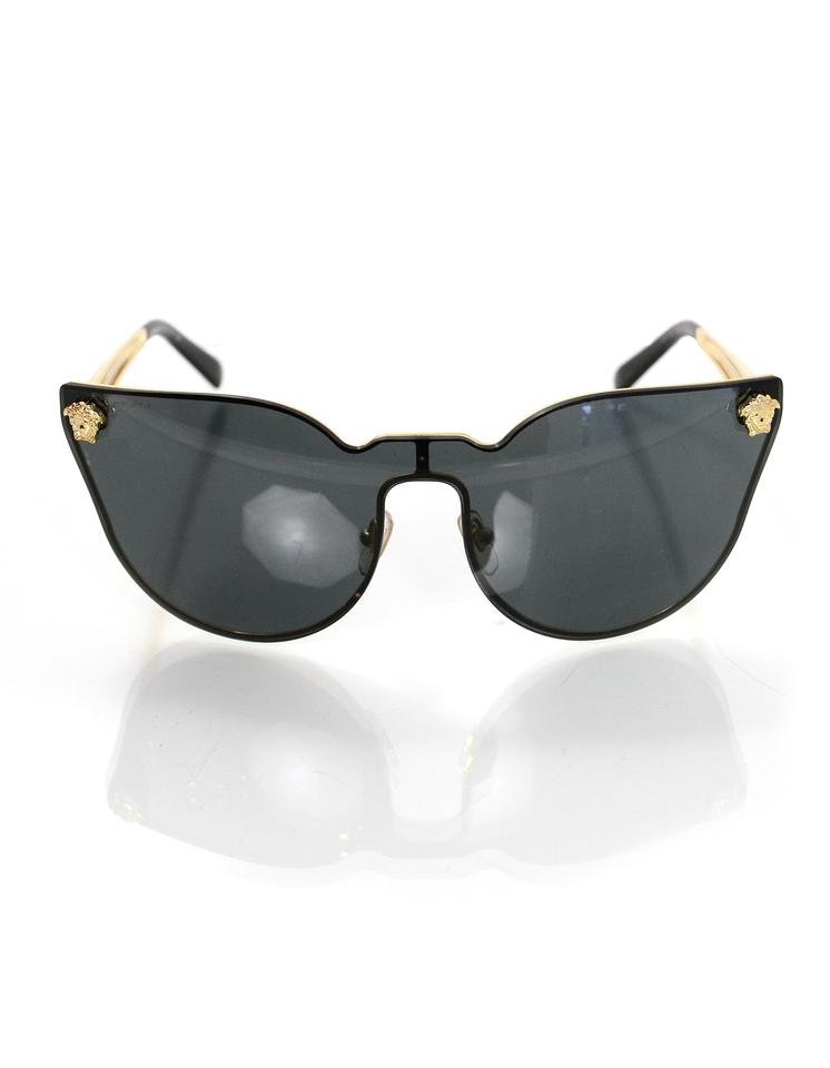 f555f066bdb Versace Medusa Cat Eye Sunglasses - Bitterroot Public Library