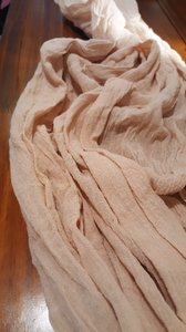 Blush Plant Dyed Table Runner - Blushing Coral Tight Weave Tablecloth