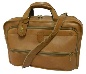 Hartmann Leather Brown Travel Bag