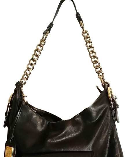Preload https://item4.tradesy.com/images/badgley-mischka-platinum-connie-black-leather-hobo-bag-22141973-0-2.jpg?width=440&height=440