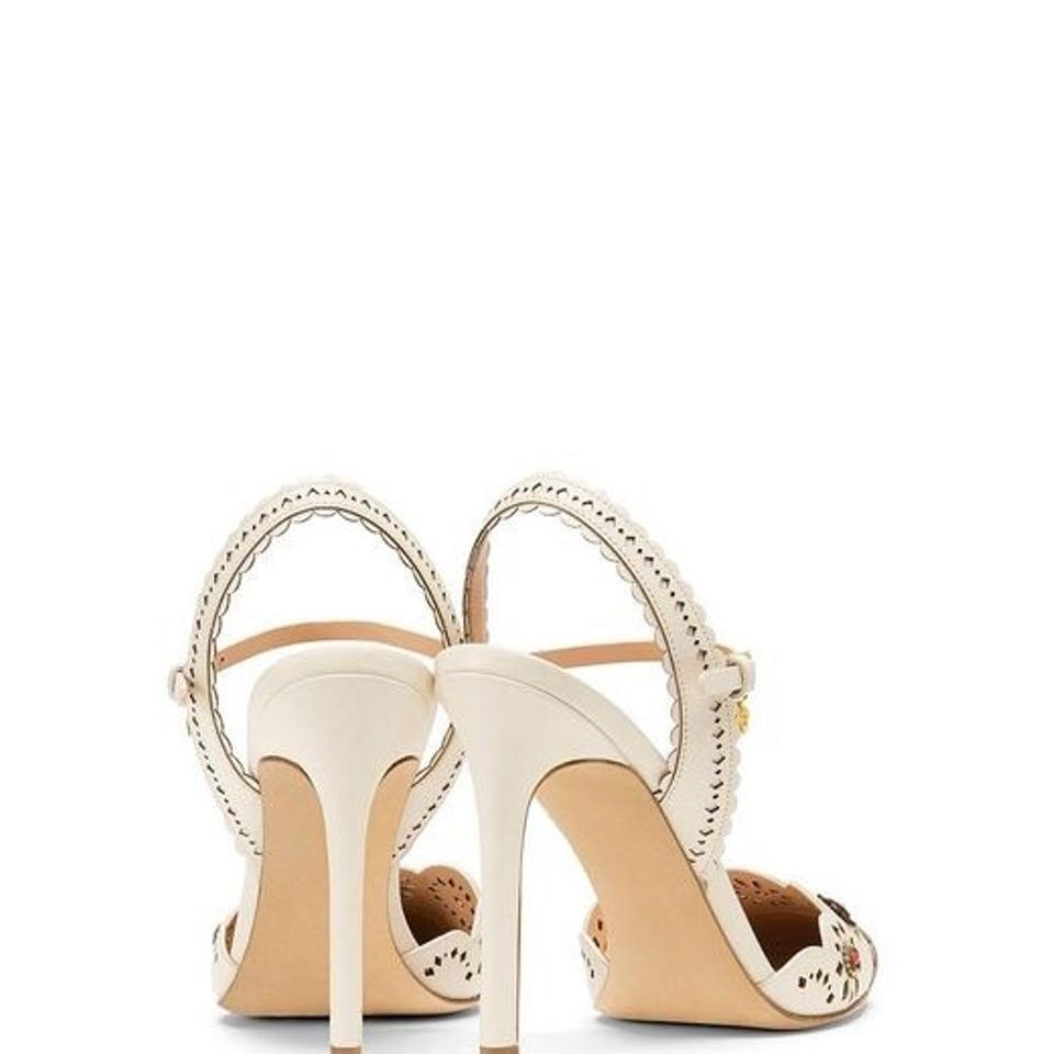 bdc1d7f97df Tory Burch Marguerite Perforated Slingback Sandal Formal Shoes Size US 9  Regular (M