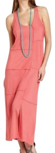Coral Maxi Dress by My Tribe New Sheath Maxi Sleeveless