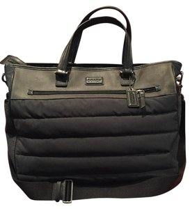 Coach Tote in Black/Charcoal