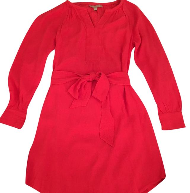 Preload https://img-static.tradesy.com/item/22142568/banana-republic-red-belted-shirttail-mid-length-short-casual-dress-size-0-xs-0-1-650-650.jpg