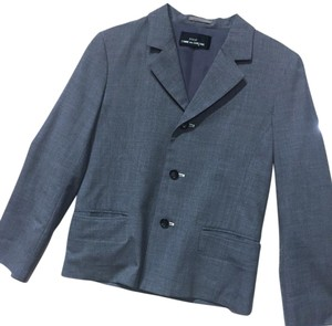 COMME des GARONS Winter Teen Back To School Wool Gray Blazer