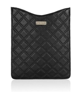 Marc Jacobs NEW! Black iPad Case Quilted LEATHER Sleeve Baroque Singles