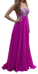 Jolene Prom Embellished Beaded Evening Gown Dress