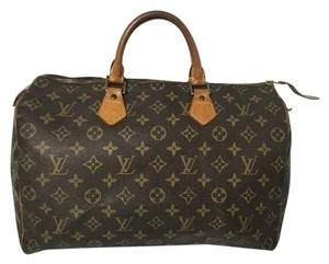 Louis Vuitton Speedy Speedy 35 Alma Neverfull Crossbody Satchel in Monogram