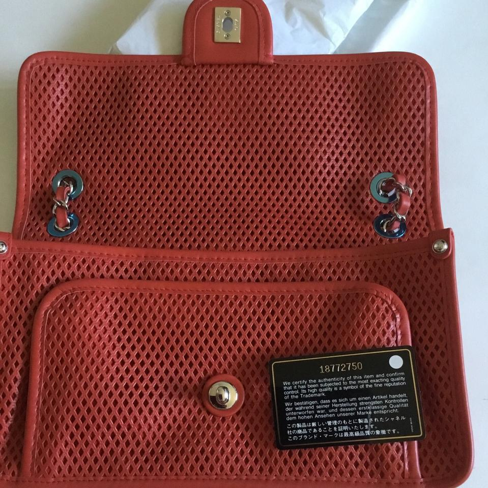 2d3665d2ecfa Chanel Cruise Wear Red Leather Shoulder Bag - Tradesy