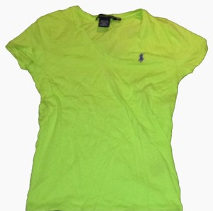 Polo Sport T Shirt Lime