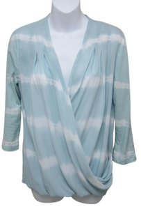 Saks Fifth Avenue Top Blue & White