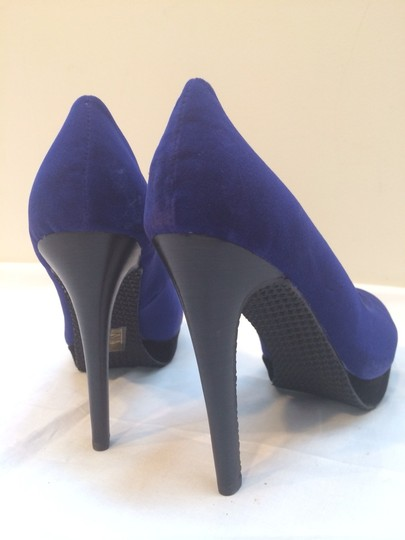Cri de Coeur Hearts Of Darkness Heels Black Sky High Heels 5 Inches High Heels Size 10 Size 10 New Velvet Stiletto Heels New Royal Blue Pumps