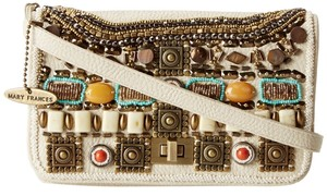 Mary Frances Beaded Embellished Cross Body Bag