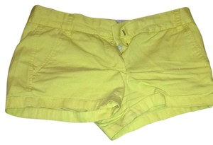 J.Crew Shorts Sunshine Yellow