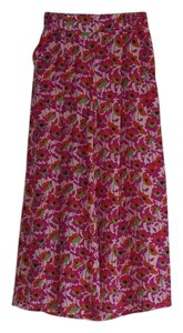 Max & Co. Wide Leg Pants red, green, purple