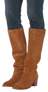 Dolce Vita Suede Leather Tall Knee High Brown Boots