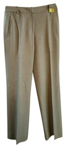 Brooks Brothers Size 0 Fully Lined Wool Straight Pants Beige