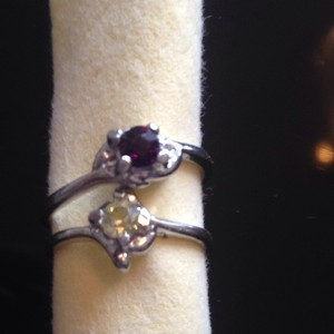 Gemstone Rings SZ 5