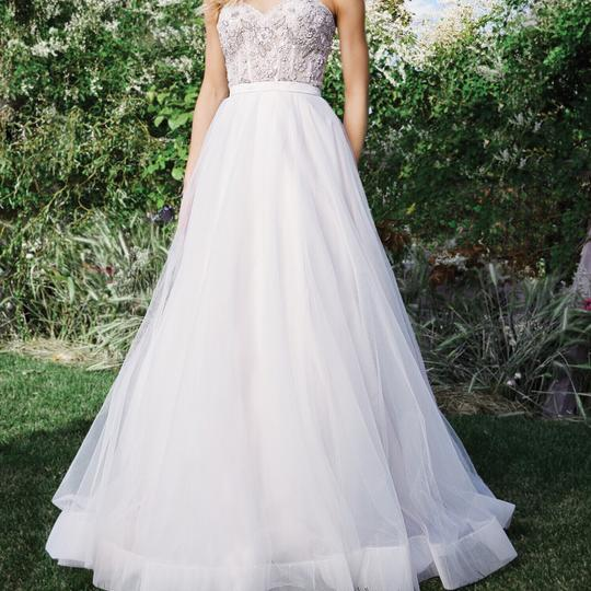 Lillian West Ivory/Sand Tulle 6442 Casual Wedding Dress