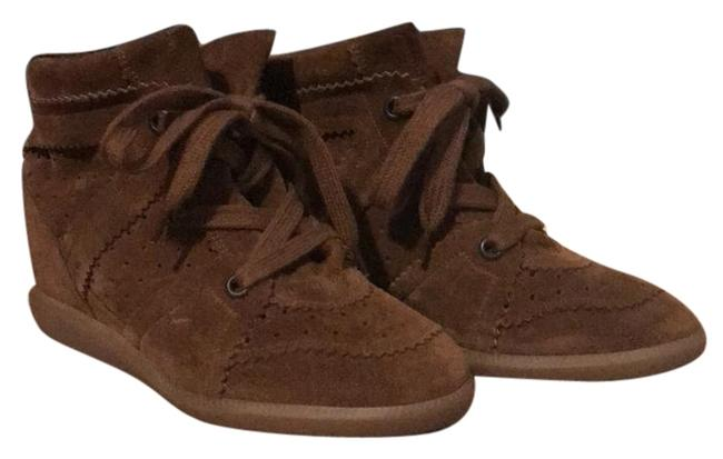 Item - Brown Bobby Suede Wedge Sneakers Size EU 39 (Approx. US 9) Regular (M, B)