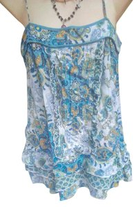 Dolled Up Camisole Sheer Top Multi