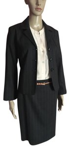 Piazza Sempione Gray Striped Suit