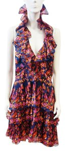 Dior short dress Multi-Color Christian on Tradesy