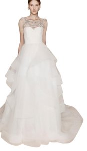 Marchesa wedding dresses up to 70 off at tradesy marchesa ivory the madison formal wedding dress size 8 m junglespirit Image collections