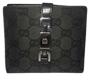 Gucci GGSL92 Gucci Black Monogram Wallet