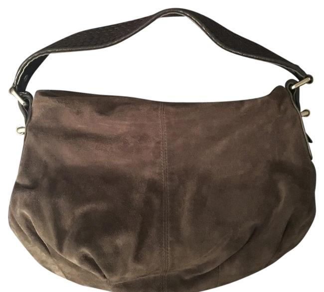 Item - Fall Gray Suede Leather Shoulder Bag